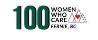 100 Women Who Care Fernie Logo